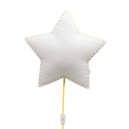 Lampara infantil-Softlihgt-Estrella-Buokids-amarillo