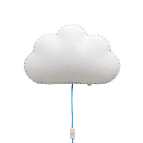 Lampara infantil-Softlihgt-Nube-Buokids-azul